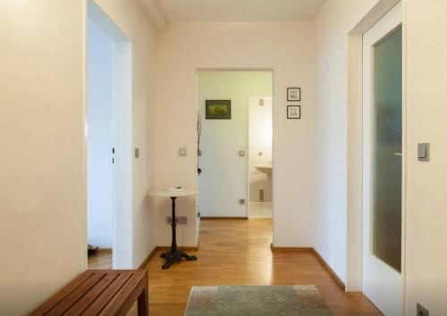 Apartment in Erlangen, Flur vom Wohnungseingang aus gesehen